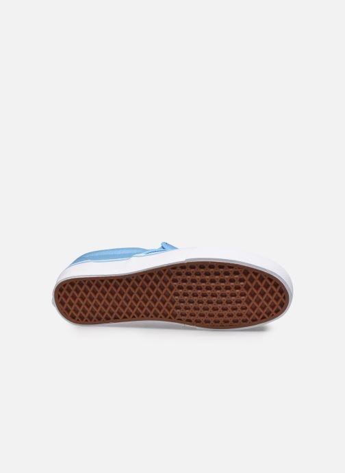 Baskets Vans Classic Slip-on Bleu vue haut