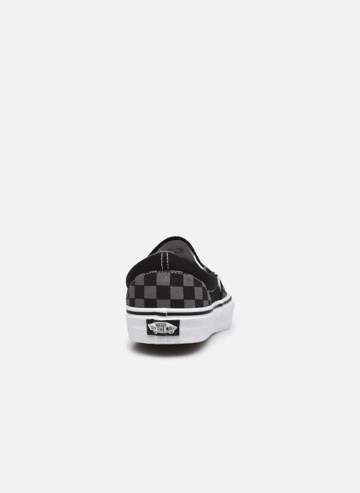Baskets Vans Classic Slip-on Noir vue droite
