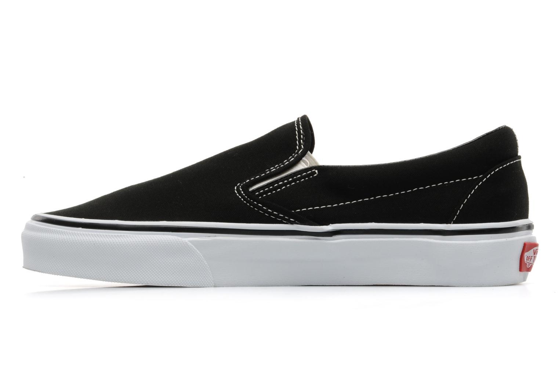 Sneaker Vans Classic Slip-on schwarz ansicht von vorne