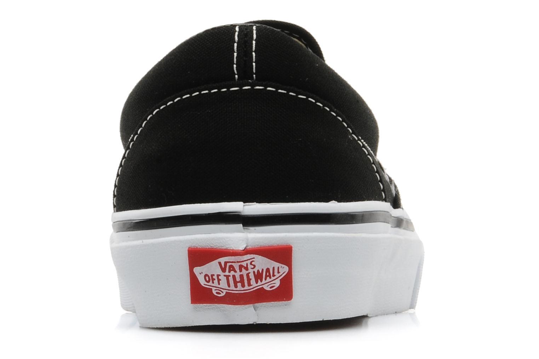Sneaker Vans Classic Slip-on schwarz ansicht von rechts