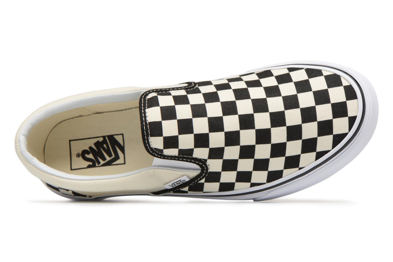 Sneaker Vans Classic Slip-on schwarz ansicht von links