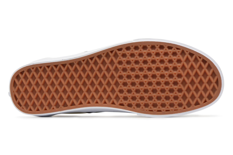 Sneaker Vans Classic Slip-on schwarz ansicht von oben