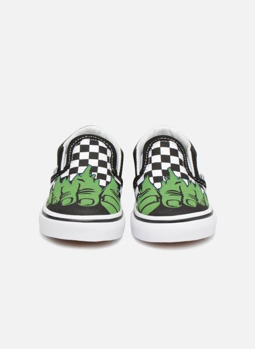 Sneaker Vans Classic Slip-on BB schwarz schuhe getragen