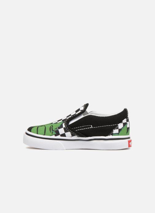 Sneaker Vans Classic Slip-on BB schwarz ansicht von vorne