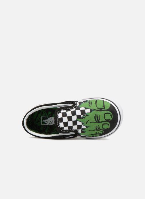 Sneaker Vans Classic Slip-on BB schwarz ansicht von links