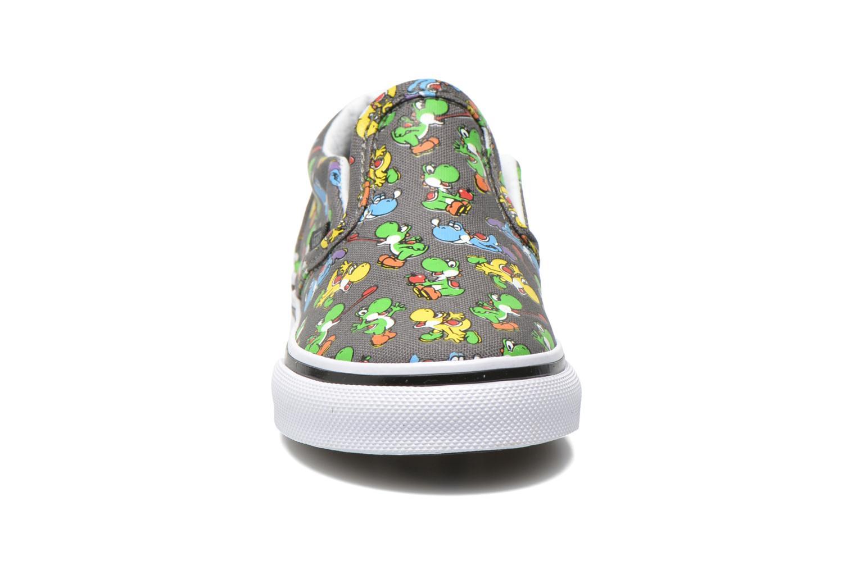 Baskets Vans Classic Slip-on BB Gris vue portées chaussures