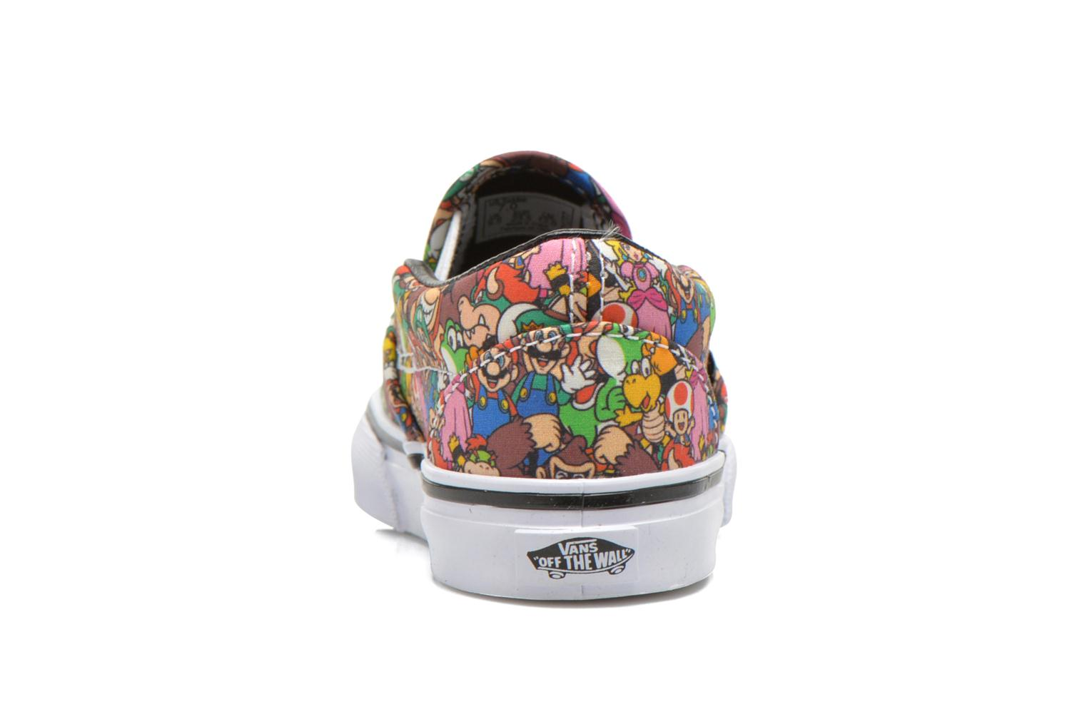 Trainers Vans Classic Slip-on BB Multicolor view from the right