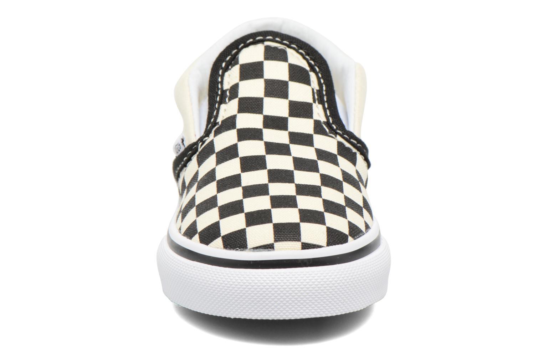 Baskets Vans Classic Slip-on BB Multicolore vue portées chaussures