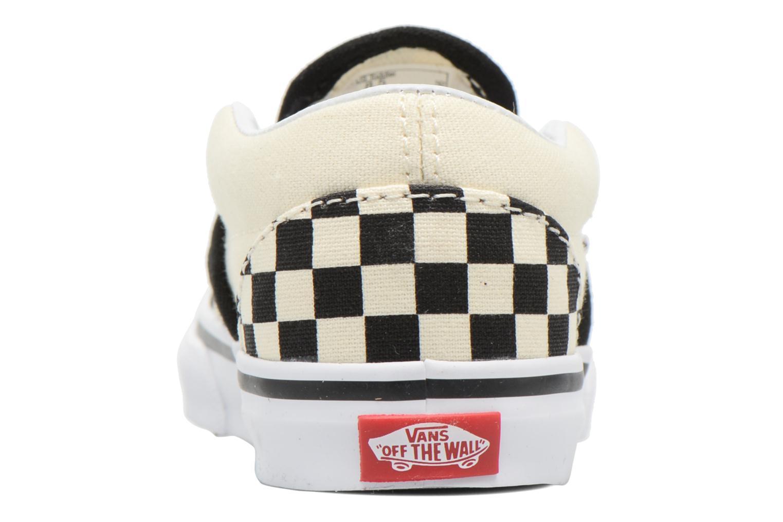 Baskets Vans Classic Slip-on BB Multicolore vue droite