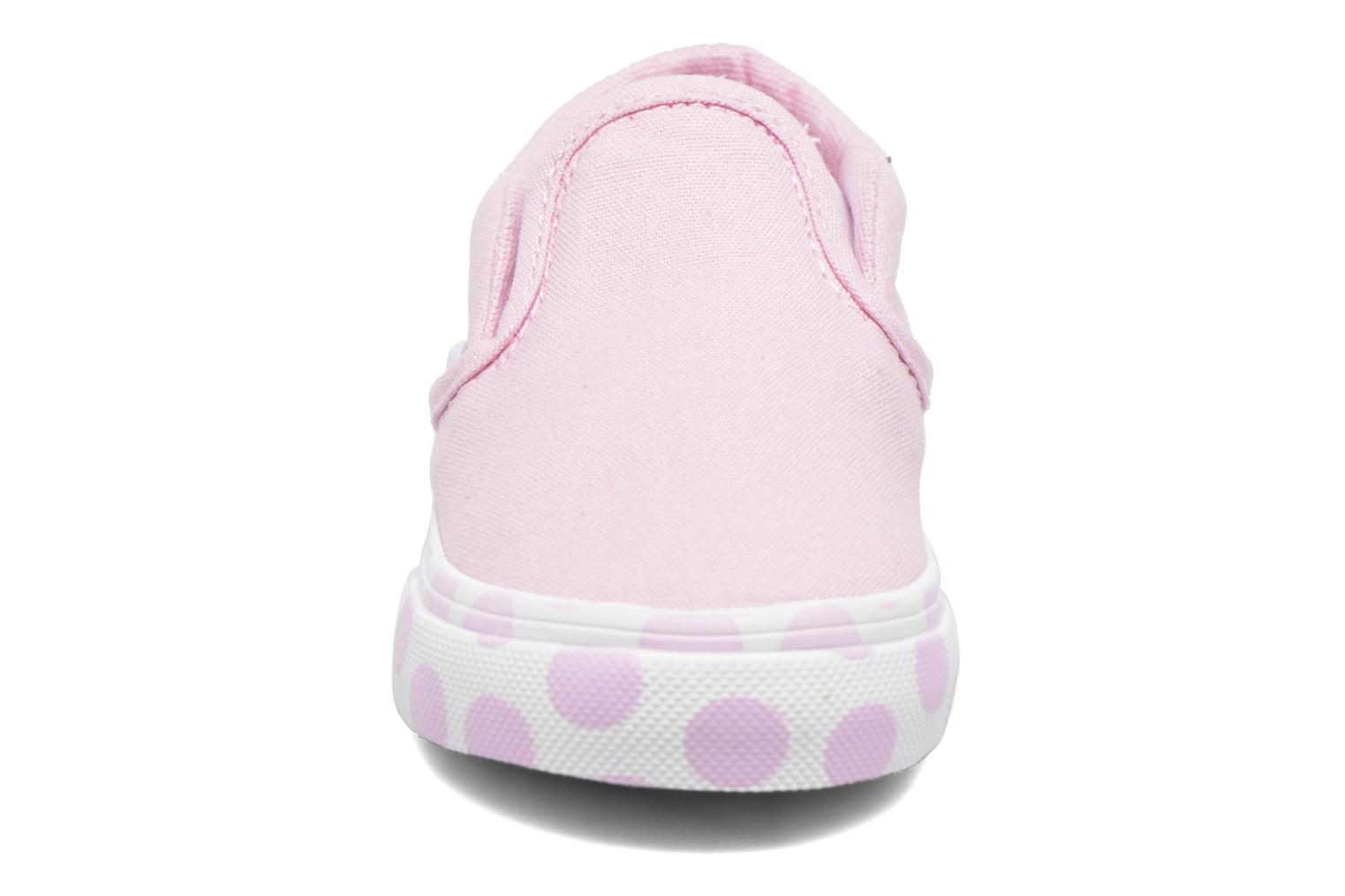 Trainers Vans Classic Slip-on BB Pink model view
