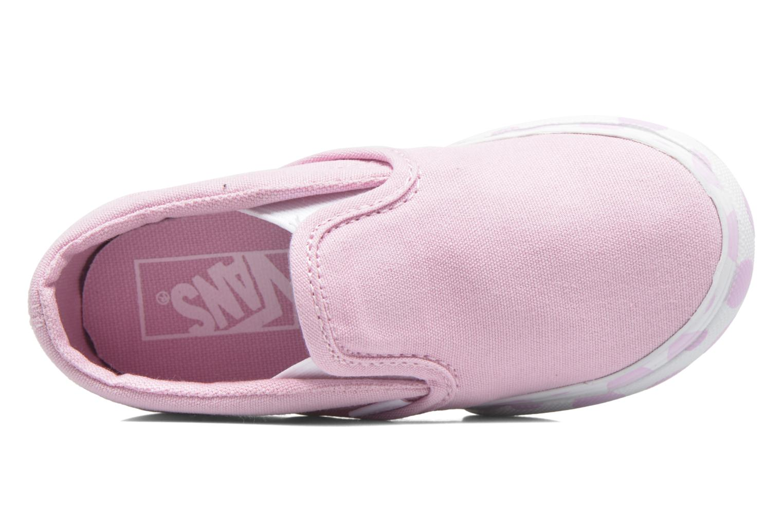 Baskets Vans Classic Slip-on BB Rose vue gauche
