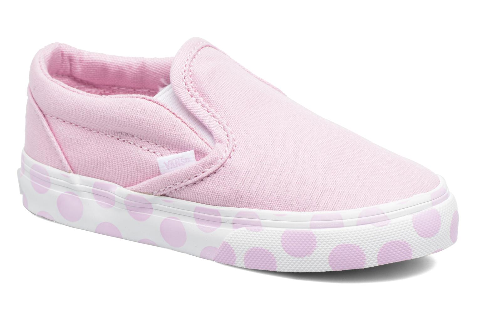 Baskets Vans Classic Slip-on BB Rose vue détail/paire