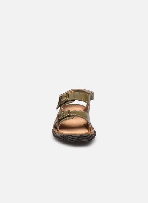 Sandalen Stones and Bones Wham grau schuhe getragen