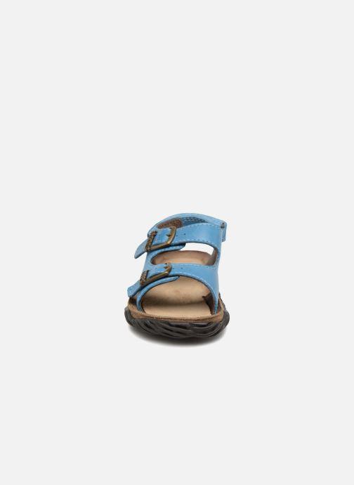 Sandales et nu-pieds Stones and Bones Wham Bleu vue portées chaussures