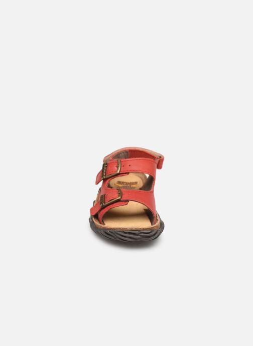 Sandales et nu-pieds Stones and Bones Wham Rouge vue portées chaussures