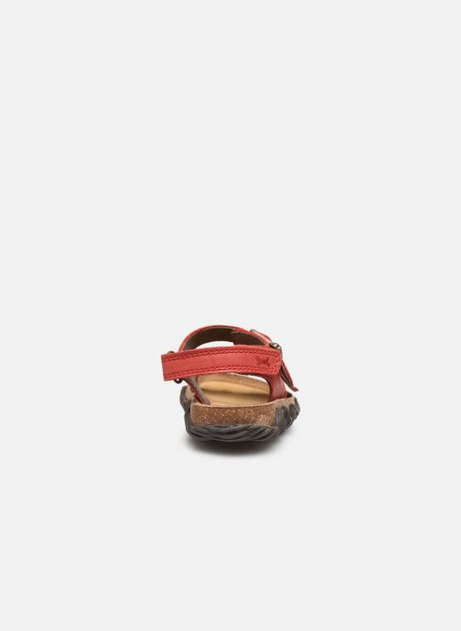 Sandali e scarpe aperte Stones and Bones Wham Rosso immagine destra
