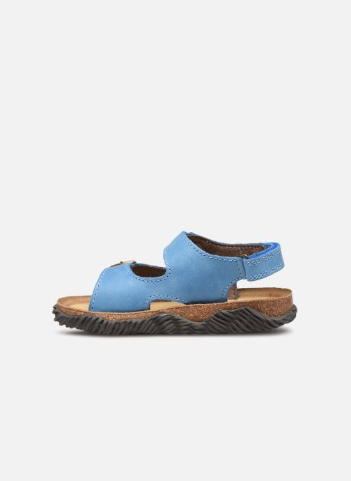 Sandales et nu-pieds Stones and Bones Wham Bleu vue face