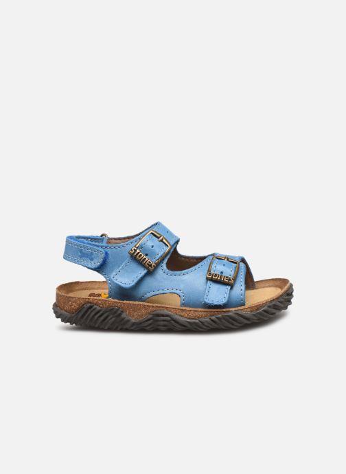 Sandales et nu-pieds Stones and Bones Wham Bleu vue derrière