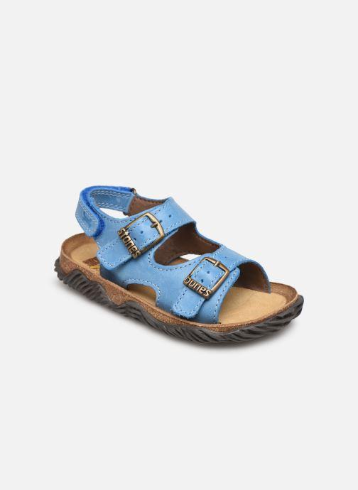 Sandales et nu-pieds Stones and Bones Wham Bleu vue détail/paire