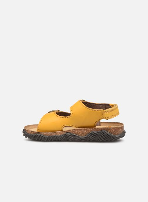 Sandalias Stones and Bones Wham Amarillo vista de frente