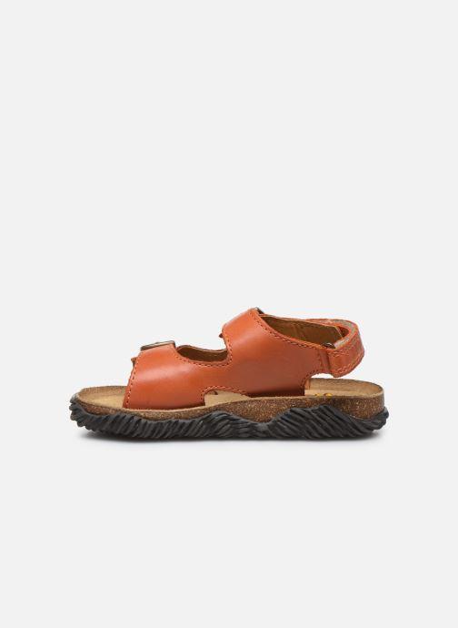 Sandales et nu-pieds Stones and Bones Wham Orange vue face