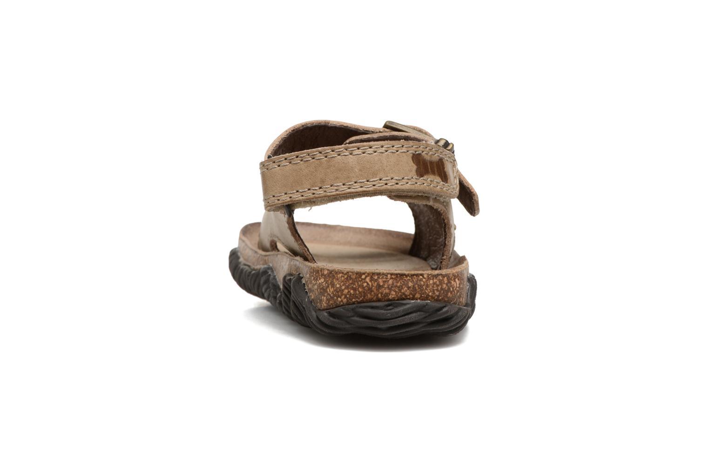 Sandales et nu-pieds Stones and Bones Wham Beige vue droite