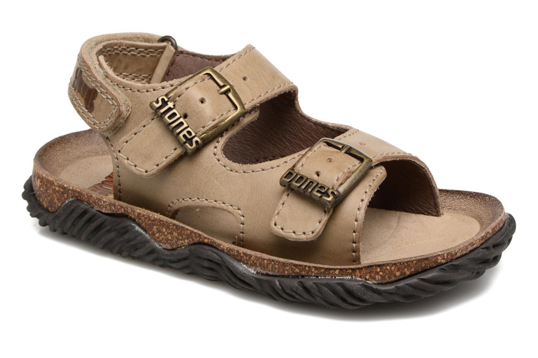 Sandales et nu-pieds Stones and Bones Wham Beige vue détail/paire