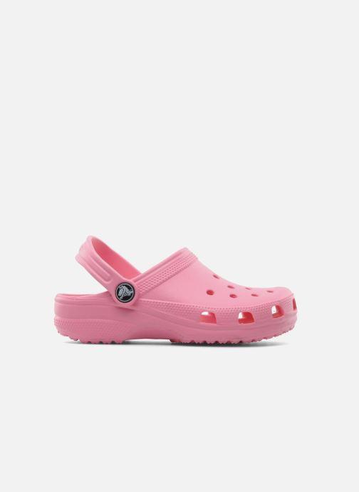 Sandales et nu-pieds Crocs Classic Kids Rose vue derrière