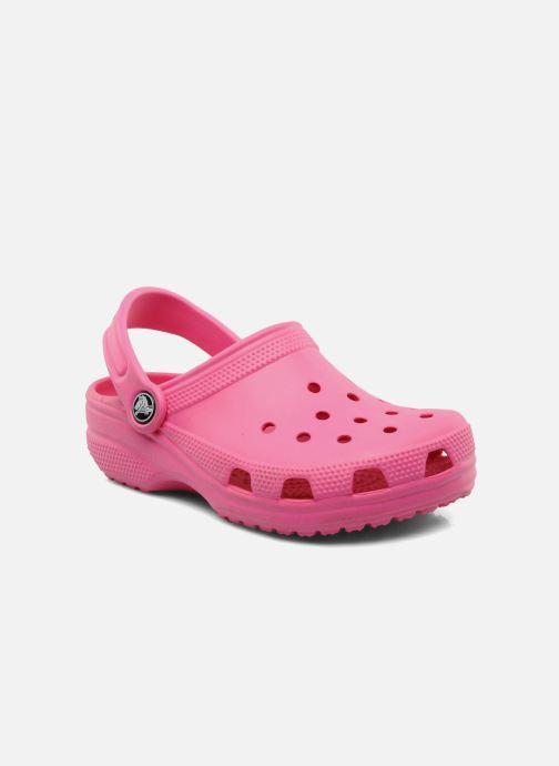 Sandales et nu-pieds Crocs Classic Kids Rose vue détail/paire