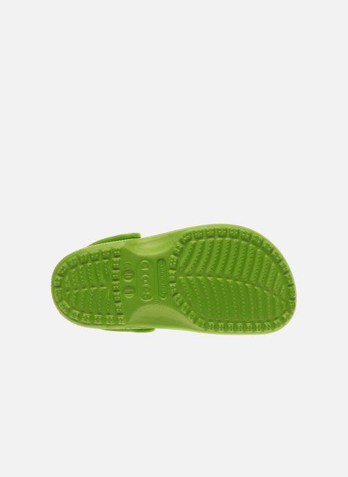 Sandalias Crocs Kids Cayman Verde vista de arriba