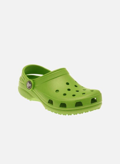 Sandalias Crocs Kids Cayman Verde vista de detalle / par