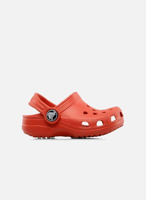 Sandales et nu-pieds Crocs Classic Kids Rouge vue derrière