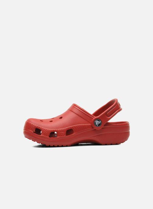 Sandalias Crocs Kids Cayman Rojo vista de frente