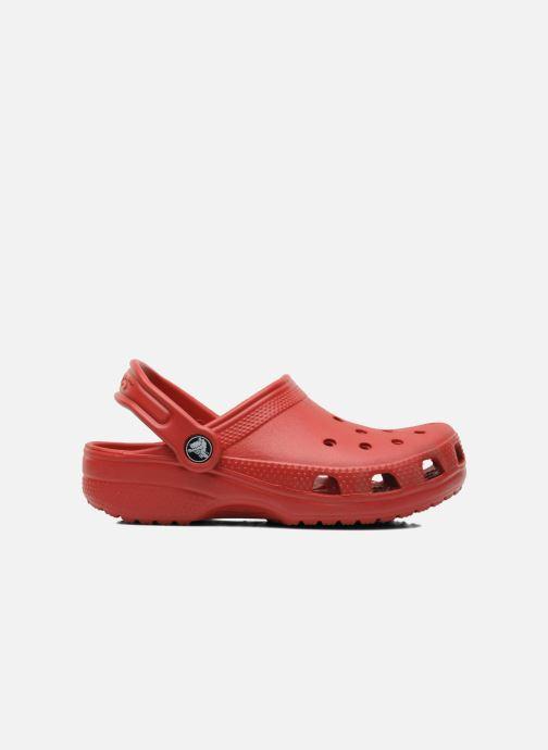 Sandalias Crocs Kids Cayman Rojo vistra trasera