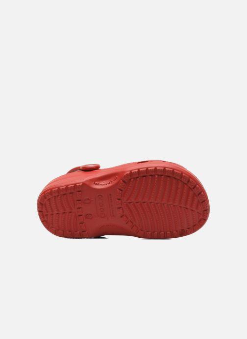 Sandales et nu-pieds Crocs Classic Kids Rouge vue haut