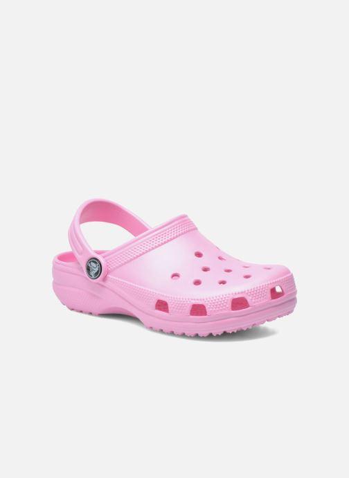 Sandales et nu-pieds Crocs Classic Clog K Rose vue détail/paire