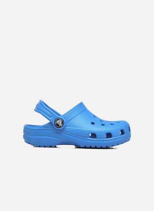 Sandalias Crocs Kids Cayman Azul vistra trasera