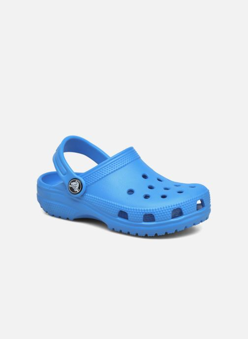 Sandalias Crocs Kids Cayman Azul vista de detalle / par