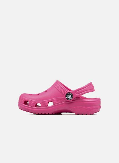 Sandalias Crocs Kids Cayman Rosa vista de frente