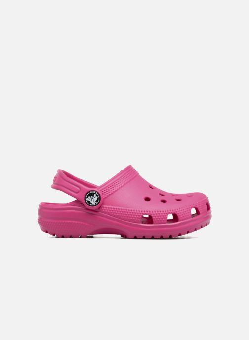 Sandalias Crocs Kids Cayman Rosa vistra trasera