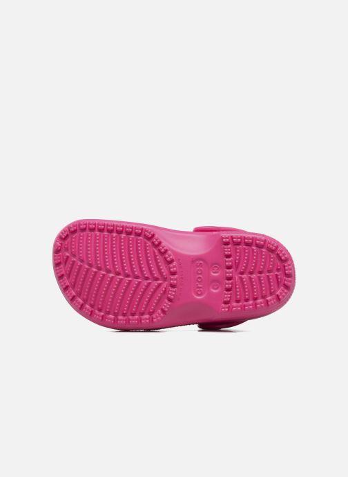 Sandali e scarpe aperte Crocs Kids Cayman Rosa immagine dall'alto