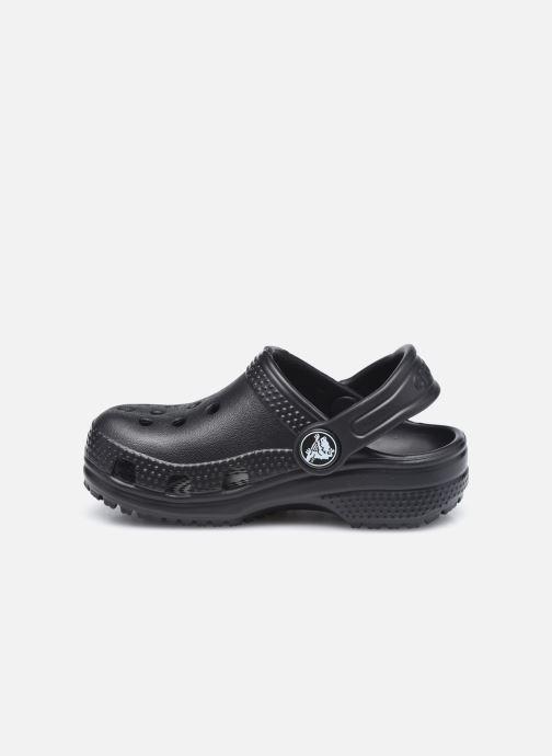 Sandales et nu-pieds Crocs Classic Kids Noir vue face