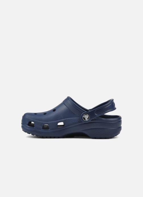 Sandali e scarpe aperte Crocs Kids Cayman Azzurro immagine frontale