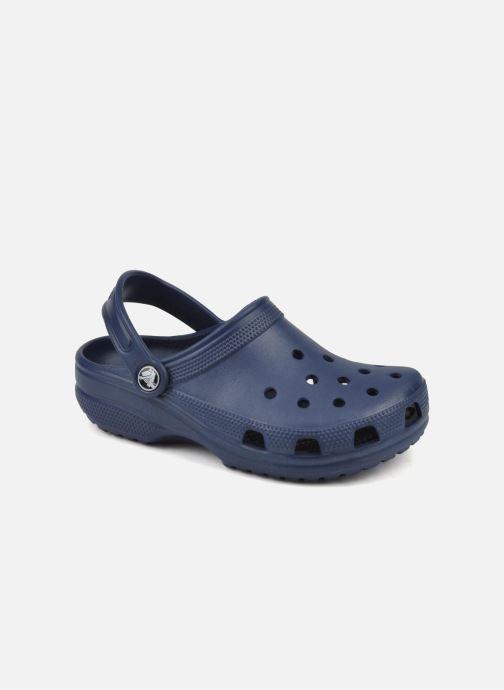 Sandales et nu-pieds Crocs Classic Clog K Bleu vue détail/paire