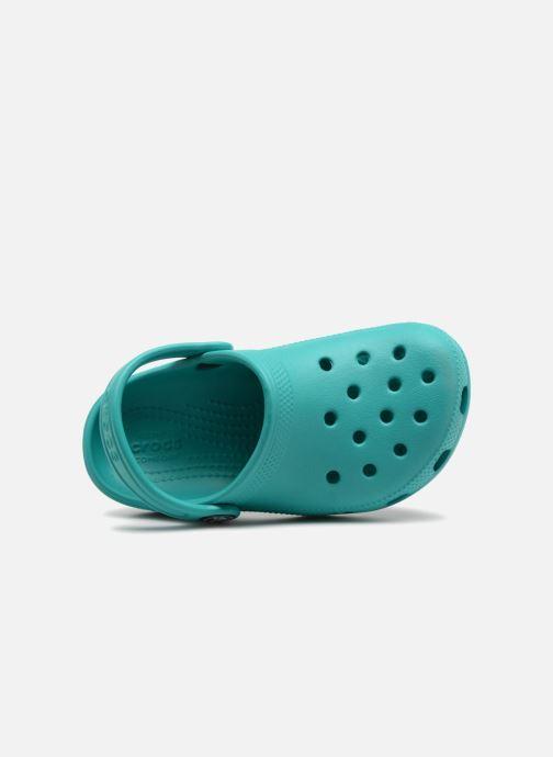 Sandales et nu-pieds Crocs Classic Kids Bleu vue gauche