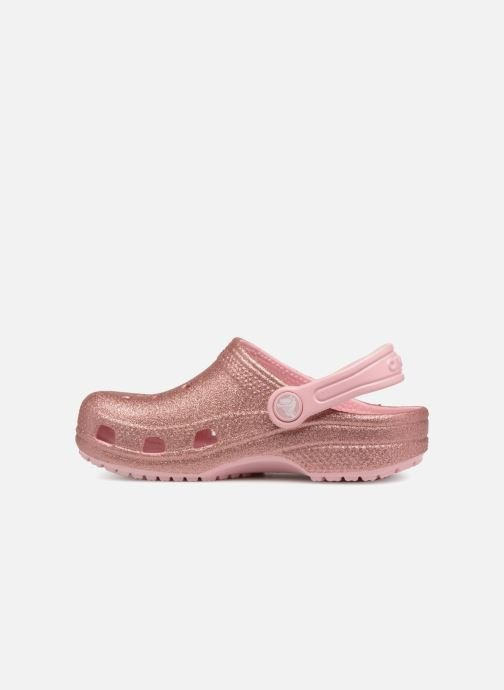 Sandalen Crocs Kids Cayman Roze voorkant