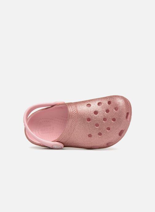 Sandales et nu-pieds Crocs Classic Kids Rose vue gauche