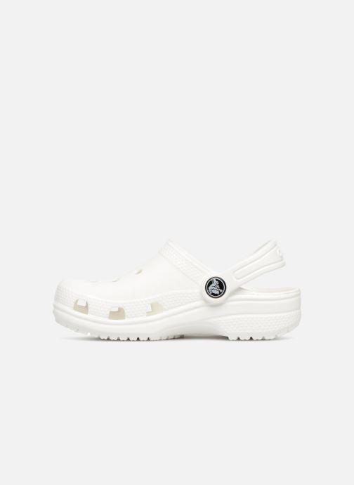 Sandales et nu-pieds Crocs Classic Kids Blanc vue face