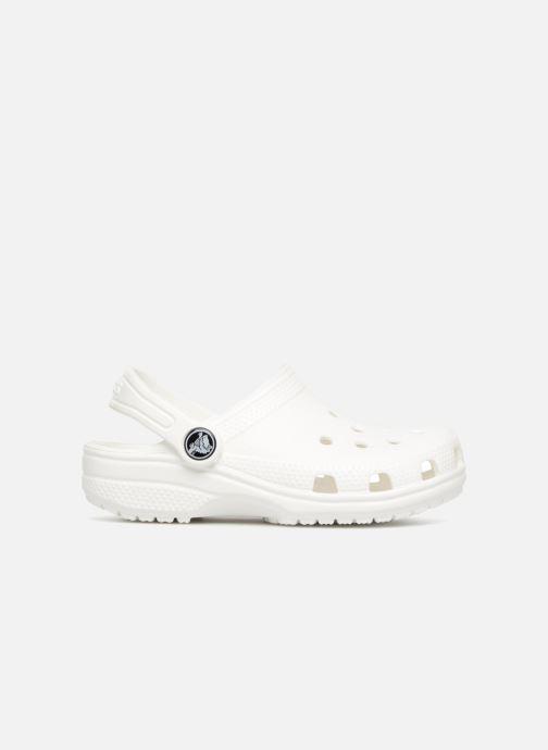 Sandales et nu-pieds Crocs Classic Kids Blanc vue derrière