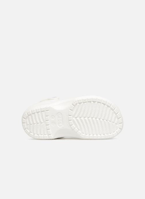 Sandales et nu-pieds Crocs Classic Kids Blanc vue haut